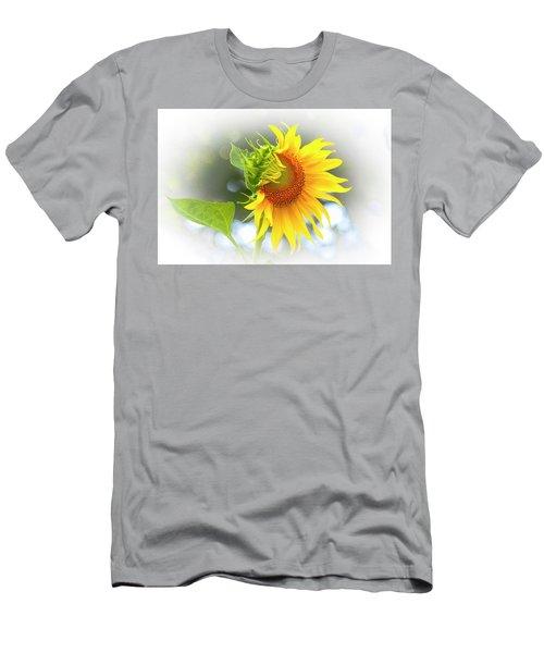 Yellow Petals Of Sunshine Men's T-Shirt (Athletic Fit)