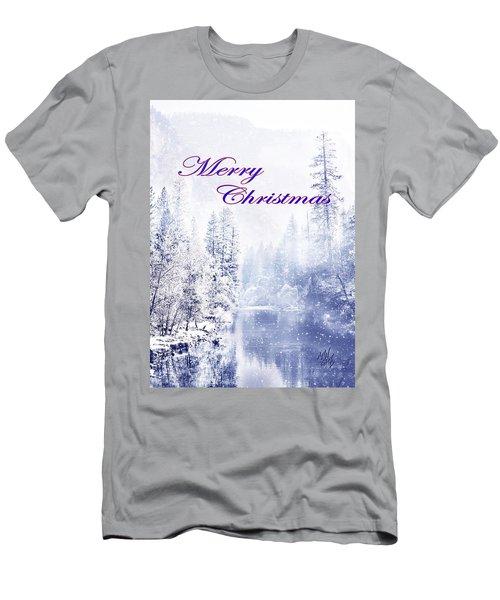 Yosemite-river Men's T-Shirt (Athletic Fit)