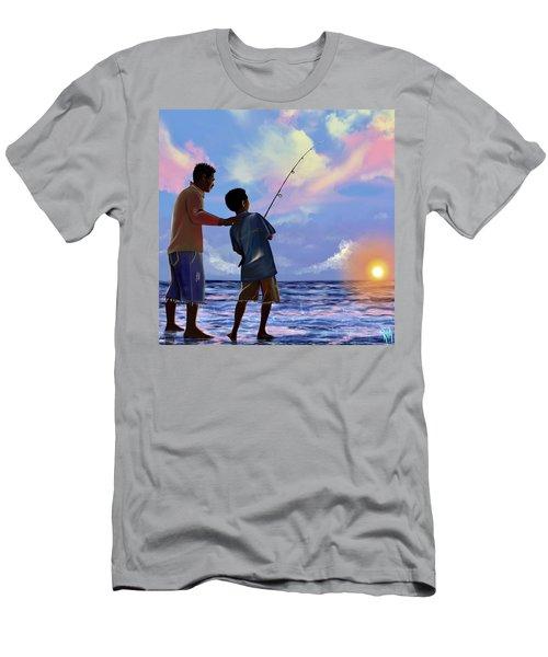 You Make Him Proud Men's T-Shirt (Athletic Fit)