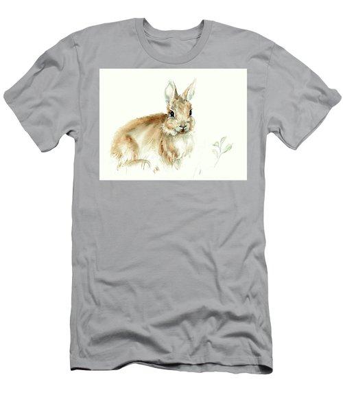 Young Rabbit Men's T-Shirt (Athletic Fit)