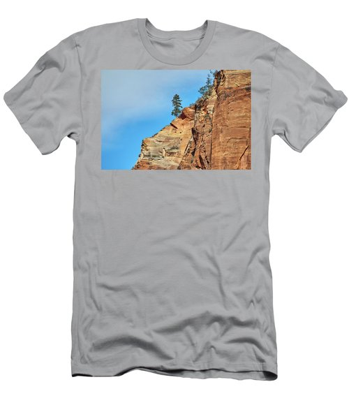 Zion National Park Men's T-Shirt (Athletic Fit)