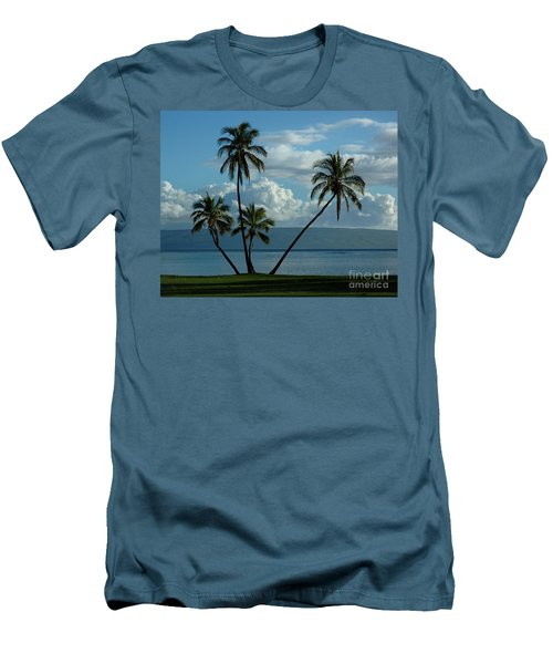 A Little Bit Of Paradise Men's T-Shirt (Slim Fit) by Vivian Christopher