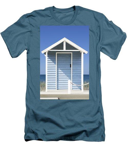 Beach Hut Men's T-Shirt (Athletic Fit)