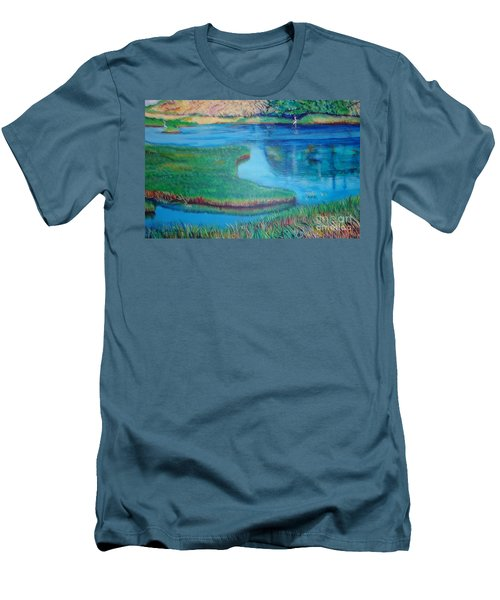 Myakka Sanctuary Men's T-Shirt (Athletic Fit)