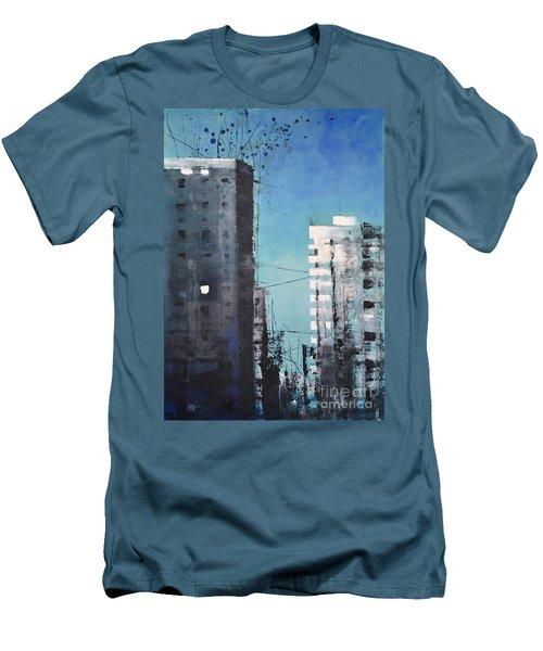 Rotterdam Men's T-Shirt (Slim Fit) by Maja Sokolowska