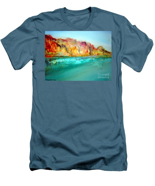 The Kimberly Australia Nt Men's T-Shirt (Slim Fit) by Roberto Gagliardi