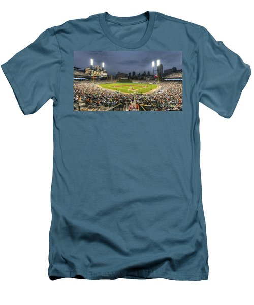 0101 Comerica Park - Detroit Michigan Men's T-Shirt (Athletic Fit)