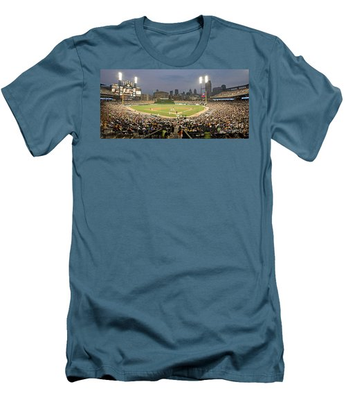 0555 Comerica Park Detroit Men's T-Shirt (Athletic Fit)