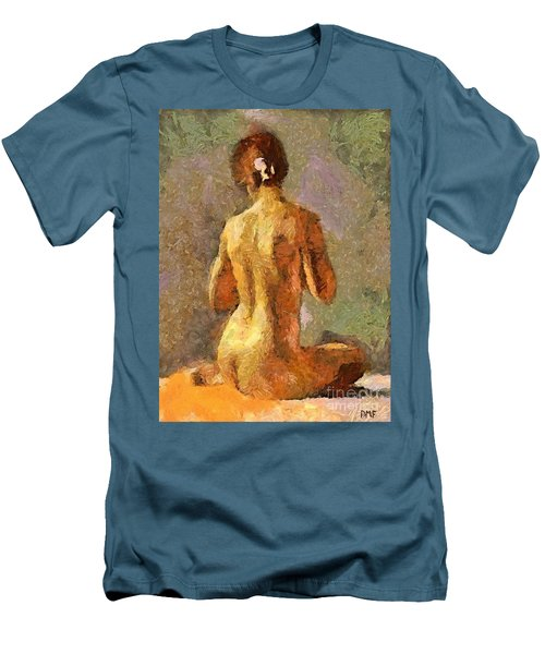 After A Bath Men's T-Shirt (Athletic Fit)