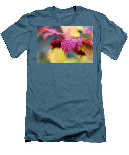 Arrowwood Leaf - Featured 3 Men's T-Shirt (Athletic Fit)
