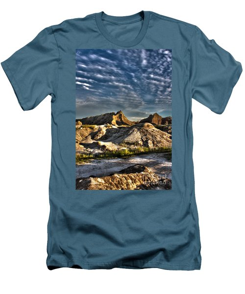 Badlands National Park Sunset Men's T-Shirt (Athletic Fit)