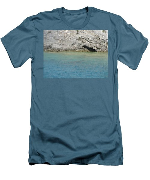 Bermuda Cave Men's T-Shirt (Athletic Fit)