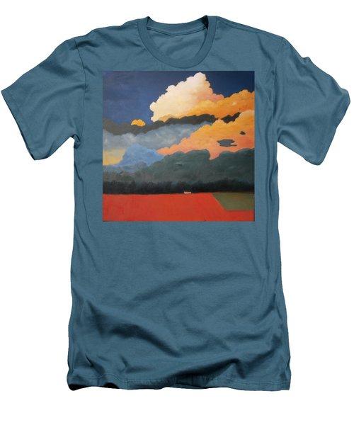 Cloud Rising Men's T-Shirt (Slim Fit) by Gary Coleman