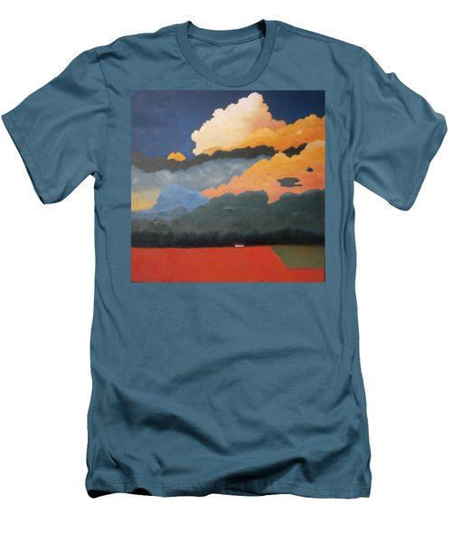 Cloud Rising Men's T-Shirt (Athletic Fit)