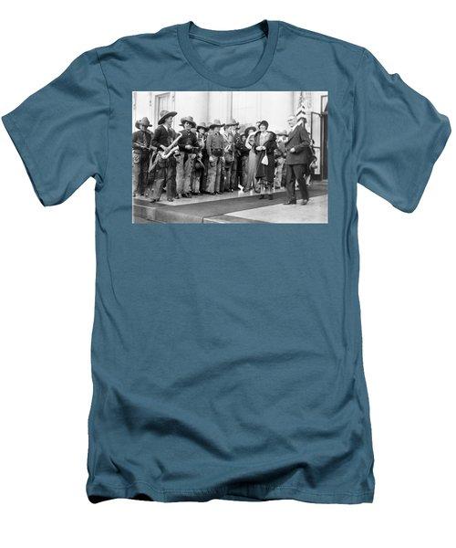 Cowboy Band, 1929 Men's T-Shirt (Slim Fit) by Granger