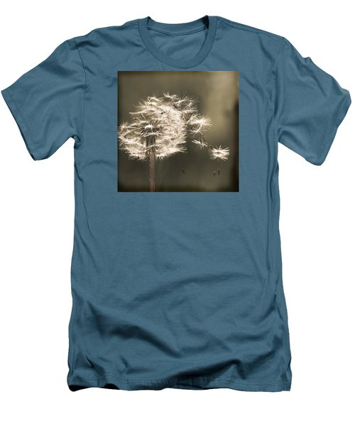 Men's T-Shirt (Slim Fit) featuring the photograph Dandelion by Yulia Kazansky