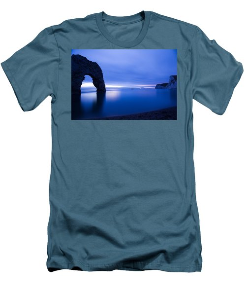 Durdle Door At Dusk Men's T-Shirt (Athletic Fit)
