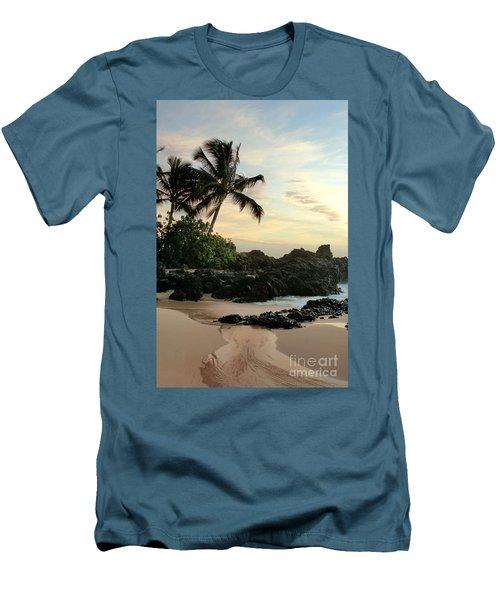 Edge Of The Sea Men's T-Shirt (Slim Fit) by Sharon Mau