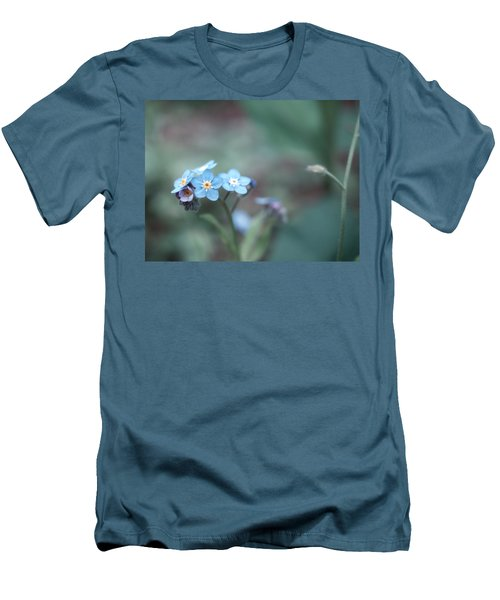 Forget Me Not Men's T-Shirt (Athletic Fit)