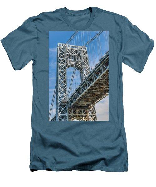 George Washington Bridge Men's T-Shirt (Athletic Fit)