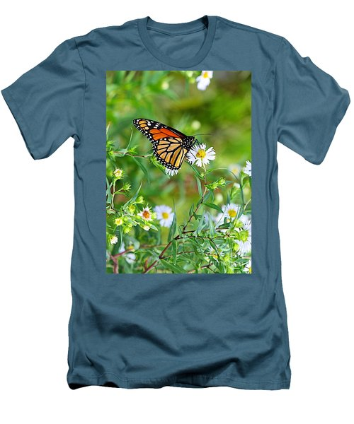 Men's T-Shirt (Slim Fit) featuring the photograph Gods Creation-17 by Robert Pearson