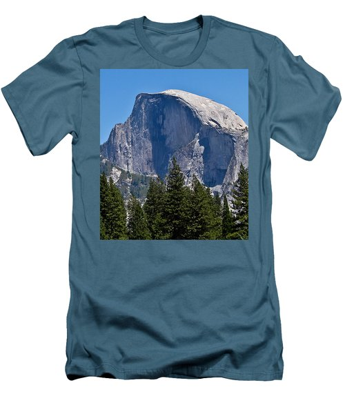 Men's T-Shirt (Slim Fit) featuring the photograph Half Dome by Brian Williamson