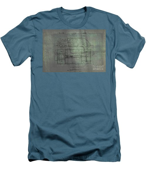 Harleigh Holmes Automobile Patent From 1932 Men's T-Shirt (Slim Fit)