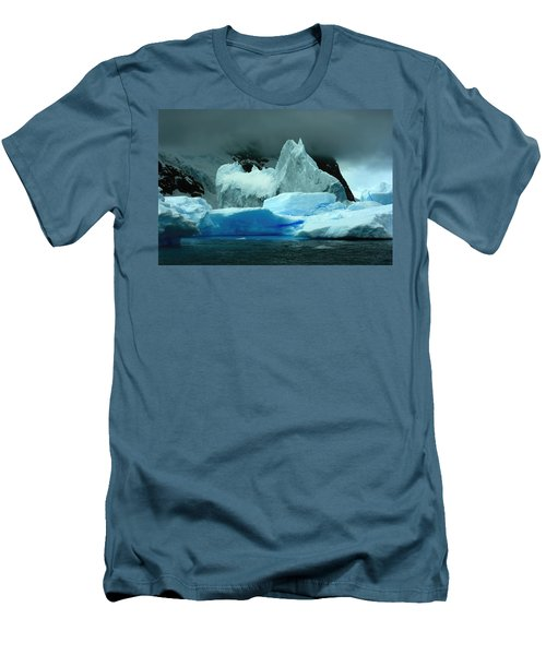 Men's T-Shirt (Slim Fit) featuring the photograph Iceberg by Amanda Stadther