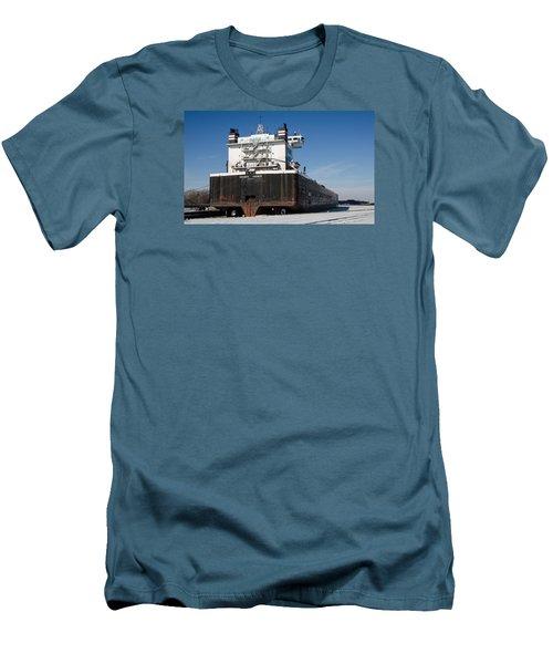 Indiana Harbor 4 Men's T-Shirt (Slim Fit) by Susan  McMenamin