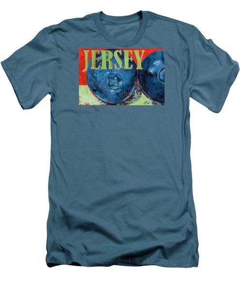Jersey Blues Men's T-Shirt (Athletic Fit)