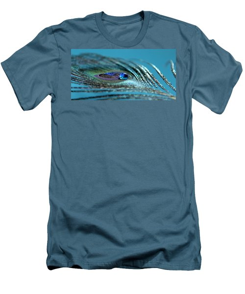 Liquid Blue Men's T-Shirt (Athletic Fit)