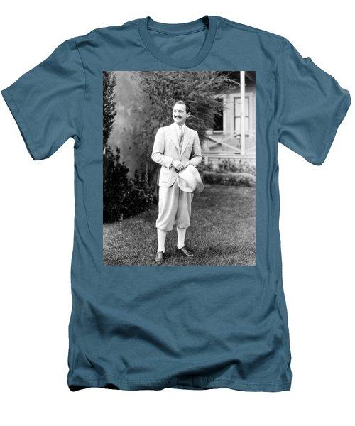 Men's T-Shirt (Slim Fit) featuring the photograph Men's Fashion, C1925 by Granger