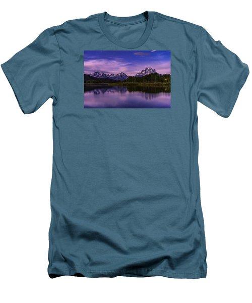 Moonlight Bend Men's T-Shirt (Slim Fit) by Chad Dutson