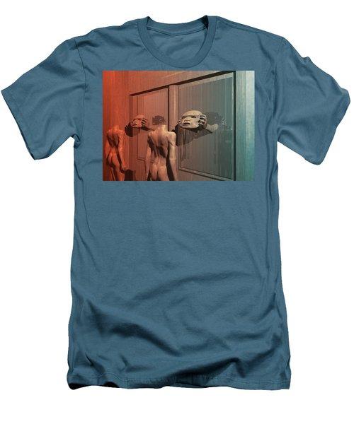 New Faces Men's T-Shirt (Athletic Fit)