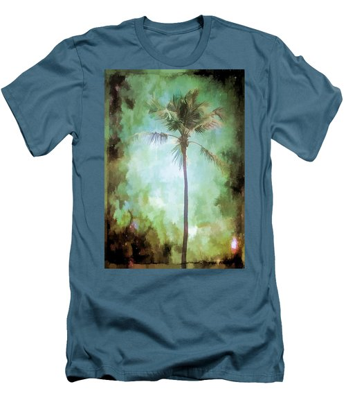 Pleasant Night To Be Alone Men's T-Shirt (Slim Fit) by Jan Amiss Photography