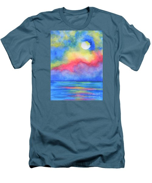 Power Of Nature  Men's T-Shirt (Slim Fit) by Chrisann Ellis
