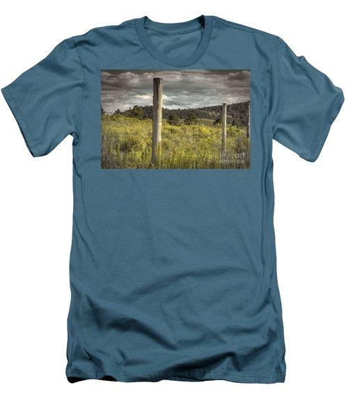 Prairie Fence Men's T-Shirt (Athletic Fit)