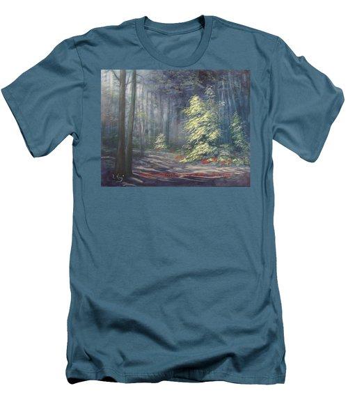 Roena King - Christmas Light Men's T-Shirt (Athletic Fit)
