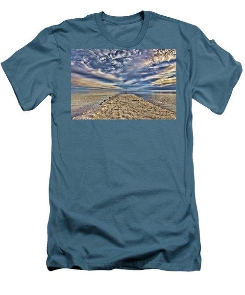Salt Pier Salton Sea Men's T-Shirt (Athletic Fit)