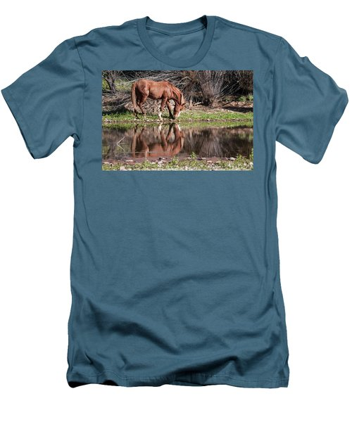 Salt River Wild Horse Men's T-Shirt (Athletic Fit)