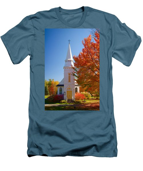 St Matthew's In Autumn Splendor Men's T-Shirt (Athletic Fit)