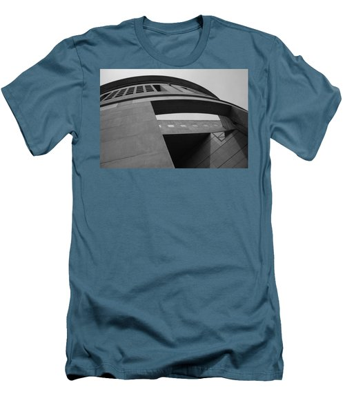 Men's T-Shirt (Slim Fit) featuring the photograph The United States Holocaust Memorial Museum by Cora Wandel