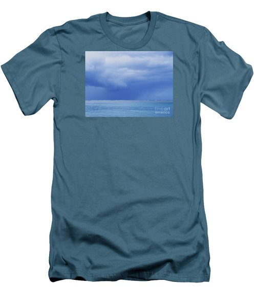 Men's T-Shirt (Slim Fit) featuring the photograph Tropical Storm by Roselynne Broussard