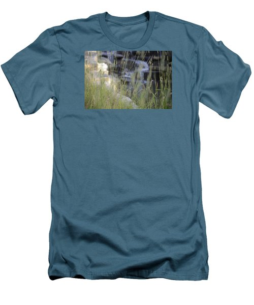 Men's T-Shirt (Slim Fit) featuring the photograph Water Is Life 2 by Teo SITCHET-KANDA