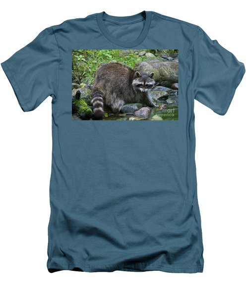 Men's T-Shirt (Slim Fit) featuring the photograph 130201p047 by Arterra Picture Library