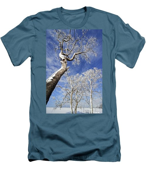 Men's T-Shirt (Slim Fit) featuring the photograph 130201p343 by Arterra Picture Library
