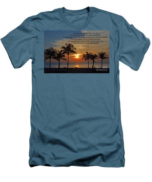 154- Bob Moawad Men's T-Shirt (Slim Fit) by Joseph Keane