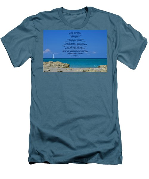 186- Mark Twain Men's T-Shirt (Athletic Fit)