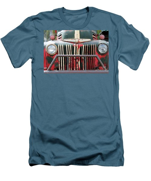 1946 Vintage Ford Truck Men's T-Shirt (Slim Fit) by Fiona Kennard