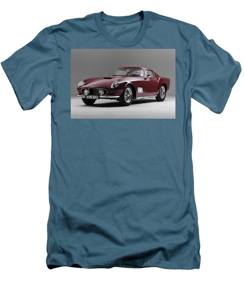 1956 Ferrari Gt 250 Tour De France Men's T-Shirt (Athletic Fit)